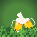 Saint Patrick's Day festive frame Royalty Free Stock Images