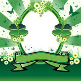 Saint Patrick's Day frame Stock Images