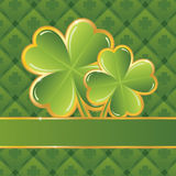 Saint Patrick's day frame Royalty Free Stock Photo