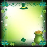 Saint Patrick's Day frame Royalty Free Stock Photos
