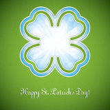 Saint Patrick`s day frame Royalty Free Stock Images