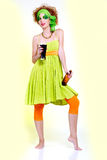 Saint patrick's day girl Royalty Free Stock Photography