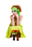 Saint patrick's day girl Royalty Free Stock Images