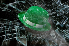 Saint Patrick's Day Green Hat. Stock Photo