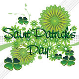Saint Patrick's Day greeting royalty free stock photos