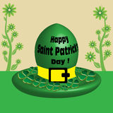 Saint Patrick's Day hat Stock Image