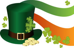 Saint Patrick's Day Hat Royalty Free Stock Photography