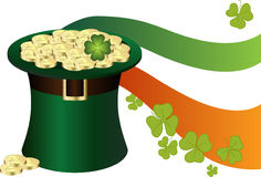 Saint Patrick's Day Hat Royalty Free Stock Images