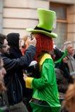 Saint Patrick's Day mascot Royalty Free Stock Image