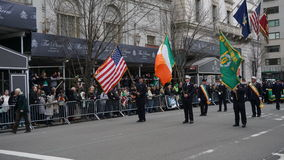 The 2015 Saint Patrick's Day Parade 107 Royalty Free Stock Image
