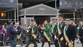 The 2015 Saint Patrick's Day Parade 179 Royalty Free Stock Images