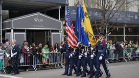 The 2015 Saint Patrick's Day Parade 180 Stock Photography