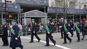 The 2015 Saint Patrick's Day Parade 232 Royalty Free Stock Image
