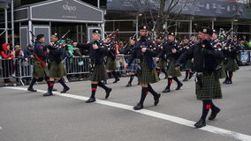 The 2015 Saint Patrick's Day Parade 33 Stock Images