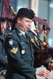 Saint Patrick's Day parade, Ottawa Stock Photos