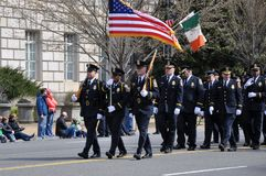 Saint Patrick`s Day Parade. Royalty Free Stock Image