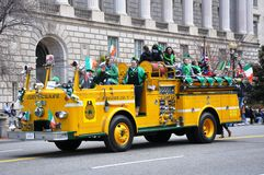 Saint Patrick's Day Parade. Royalty Free Stock Images