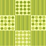 Saint Patrick's Day pattern. Vector illustration of Saint Patrick's Day pattern Stock Photography