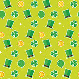 Saint Patricks Day Pattern Background Royalty Free Stock Photography