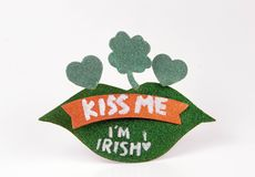 Saint Patrick's Day Pin Royalty Free Stock Photo