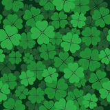 Saint Patrick`s day seamless background Stock Images