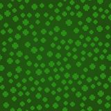 Saint Patrick`s day seamless background - Vector stock illustration