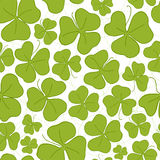 Saint Patrick's Day seamless pattern Stock Photos