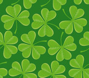 Saint Patrick's day seamless texture Royalty Free Stock Photography