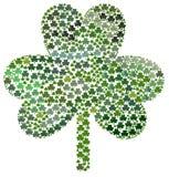 Saint Patrick's Day Shamrocks stock image