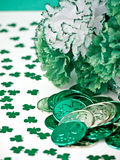 Saint Patrick's Day Still Life Royalty Free Stock Photos