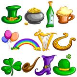 Saint Patrick's Day symbol Royalty Free Stock Photos