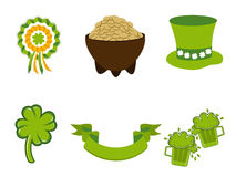 Saint Patrick's Day symbols. Stock Photography