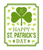 Saint Patrick's day Royalty Free Stock Photography