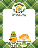 Saint Patrick's Day. Vector flat illustration. Stock Photo