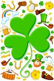 Saint Patrick's Day Wallpaper Stock Image