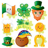 Saint Patrick's Elements Stock Photography