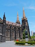Saint Patricks cathedral in Melbourne Royalty Free Stock Image