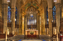Saint Patricks Cathedral Stock Images