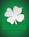 Saint Patricks clover illustration design Stock Photos