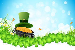 Saint Patricks Day Background Royalty Free Stock Photography