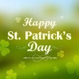 Saint Patricks Day Background Stock Photography