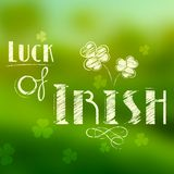Saint Patricks Day Background Royalty Free Stock Photos