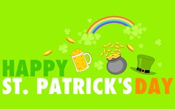 Saint Patricks Day Background Royalty Free Stock Photo