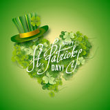 Saint Patricks Day Card Royalty Free Stock Image
