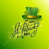 Saint Patricks Day Card Stock Photography