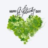 Saint Patricks Day Card Stock Photos