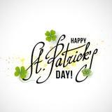 Saint Patricks Day Card Stock Photo