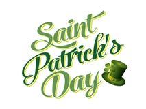 Saint Patricks Day Card Royalty Free Stock Photo