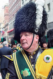 Saint Patricks Day costume Stock Photo