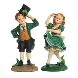 Saint Patricks Day Couple Royalty Free Stock Image
